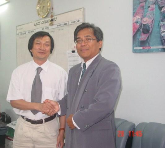 LÀM VIỆC VỚI TỔNG LÃNH SỰ MALAYSIA TẠI TP.HCM