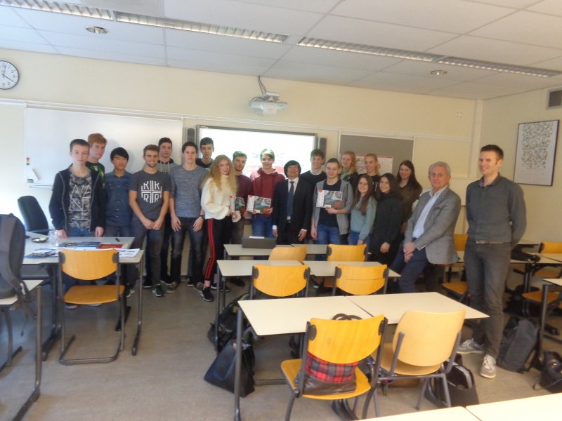 SEMINAR WITH SINTERMEERTEN STUDENTS IN HOLLAND