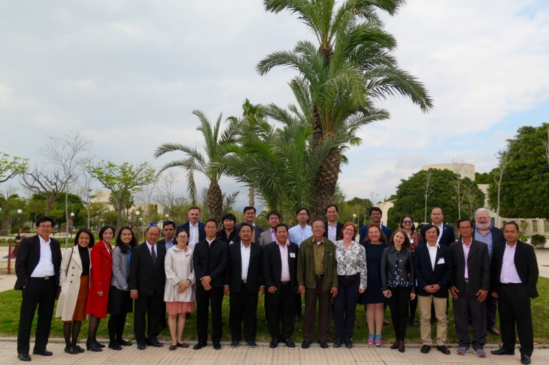OPENING CEREMONY OF REACT PROJECT – STRENGTHENING CLIMATE CHANGE RESEARCH AND INNOVATION CAPACITIES IN CAMBODIA, LAOS AND VIETNAM