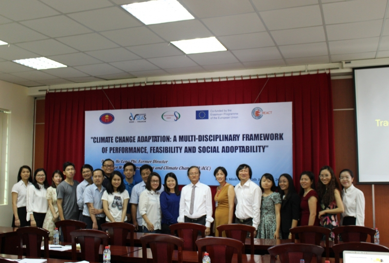 "Seminar on ""Climate change Adaptation – A multi-disciplinary framework of performance, feasibility and social adoptability"""
