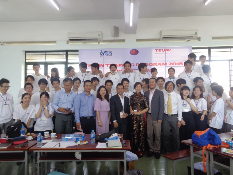 TRAINING PROGRAM IN VIETNAM FOR JAPANESE EMPLOYEES FROM TEIJIN LTD. COMPANY