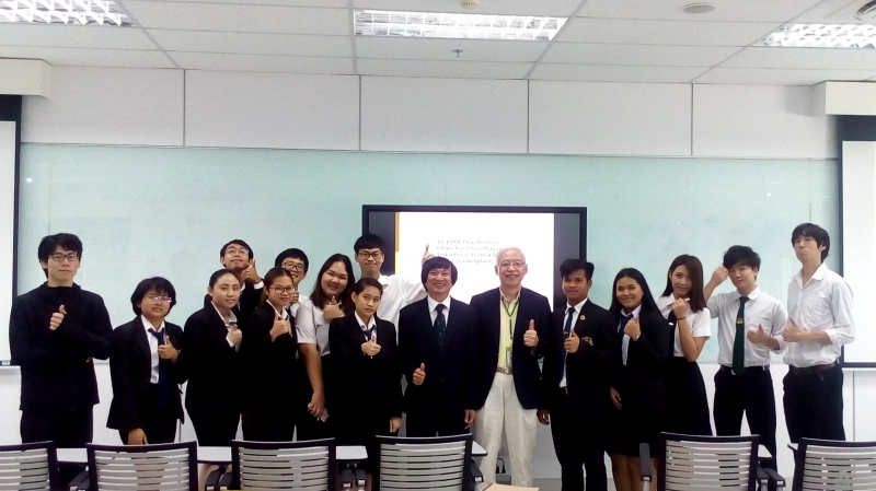 MEET AND GREET WITH STUDENTS OF PANYAPIWAT INSTITUTE OF MANAGEMENT, BANGKOK
