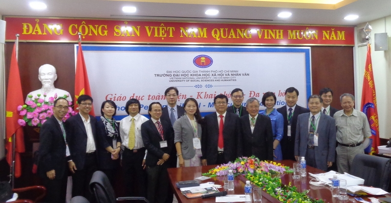 MEETING DELEGATION OF UNIVERSITIES FROM TAINAN, TAIWAN