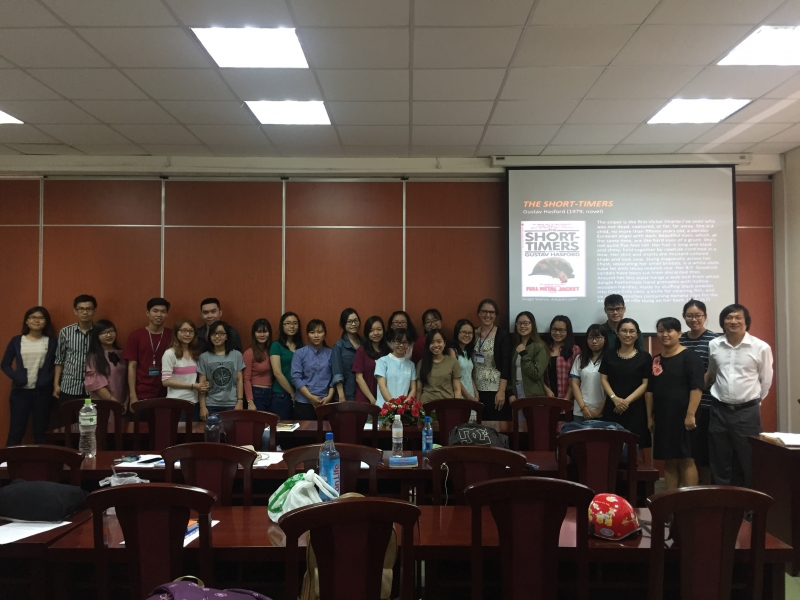"SEMINAR ON ""REPRESENTATIONS OF LONG-HAIRED WARRIORS IN U.S. VIETNAM WAR LITERATURE"""