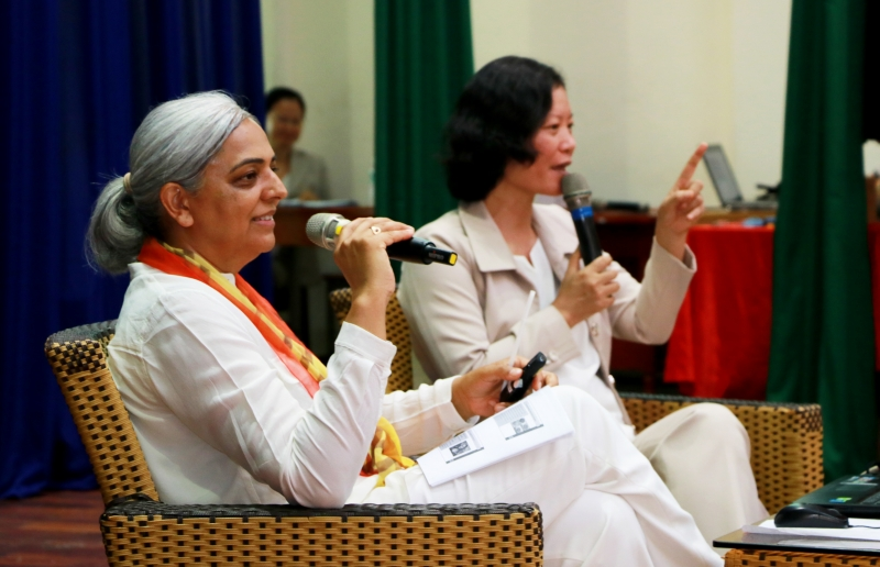 ARUNA LADVA TALKS ABOUT THE ART OF LIVING IN BALANCE